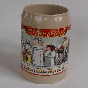 Vintage Utica Club Characters 1997 Beer Stein